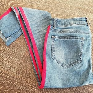 Fashion Nova Striped Jeans